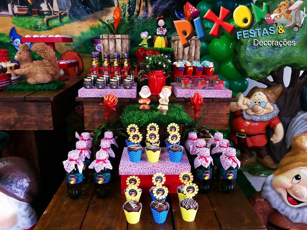 decoracao festa infantil branca de neve:Decoração Branca de Neve Festa Infantil, Decoração Branca de Neve