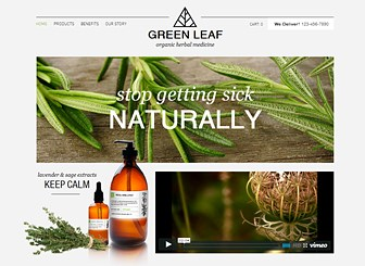 Fresh WooCommerce Template for Organic and Natural Products