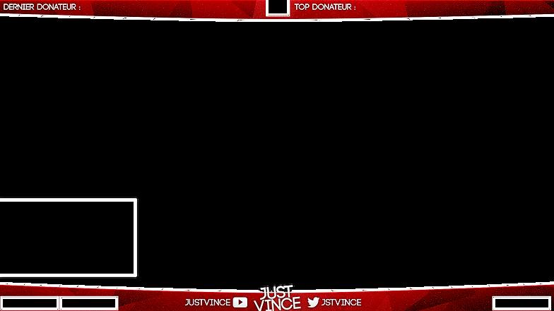 streaming overlay csgo red