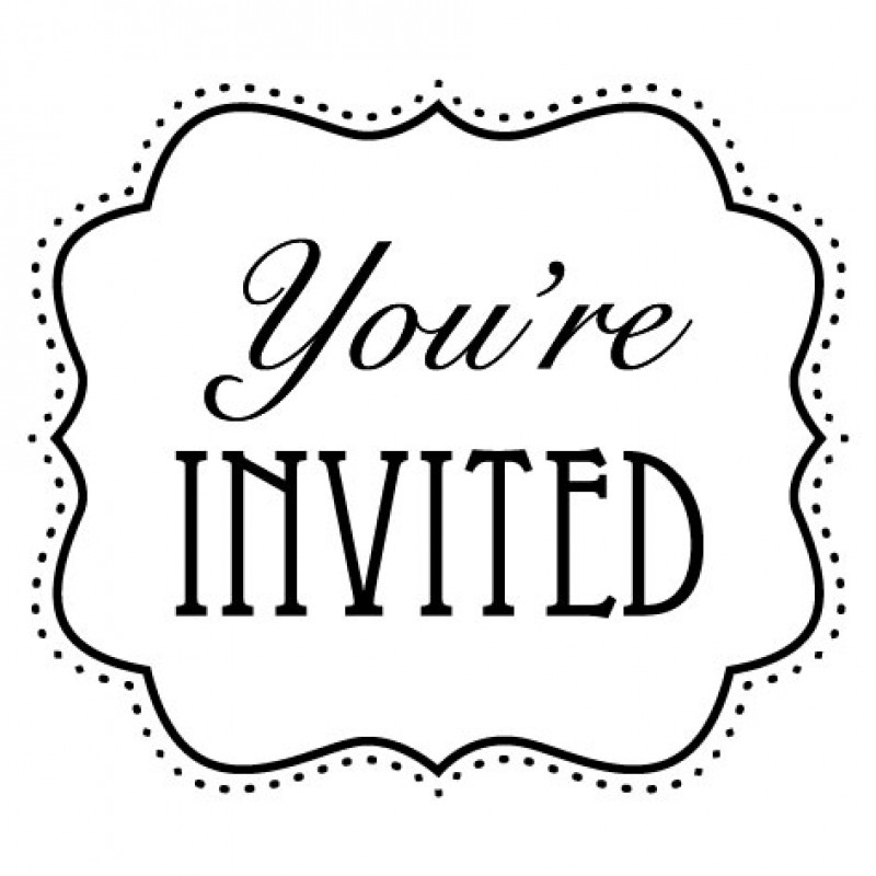 you have been cordially invited template