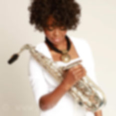 Millicent Stephenson Saxophonist Photo b