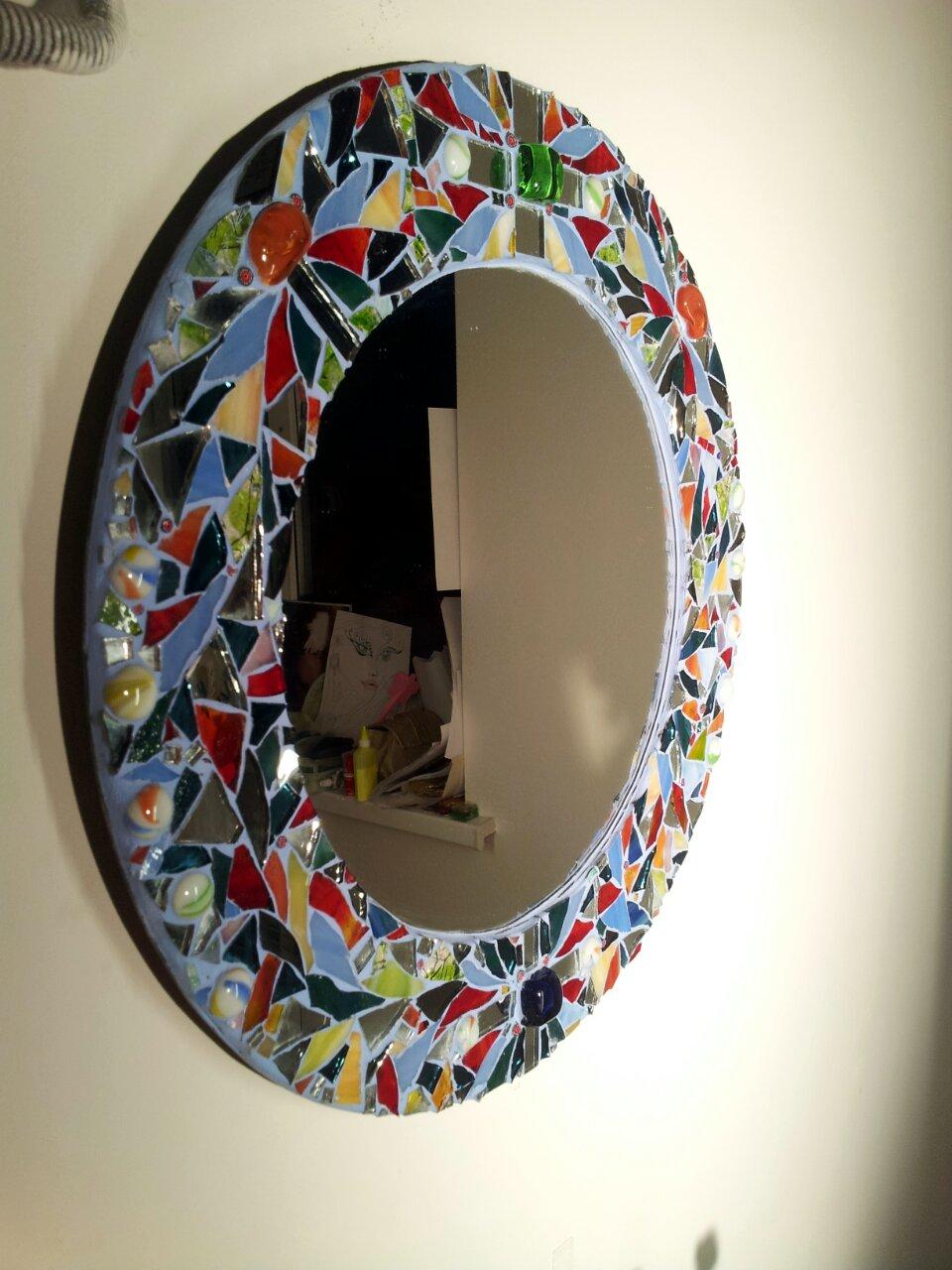 Идеи рамки для зеркала своими руками фото