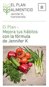 El plan alimenticio