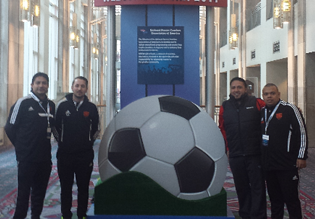 WPYSA Coaches at NSCAA Convention