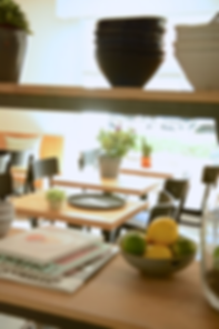 Lemons , Bookcase, Dishes and Tables.png