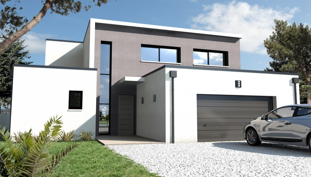 Constructeur rodez contemporain 5 for Constructeur de maison contemporaine