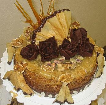 Baklava Birthday Cake