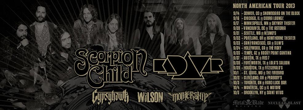 Scorpion Child @ Montreal