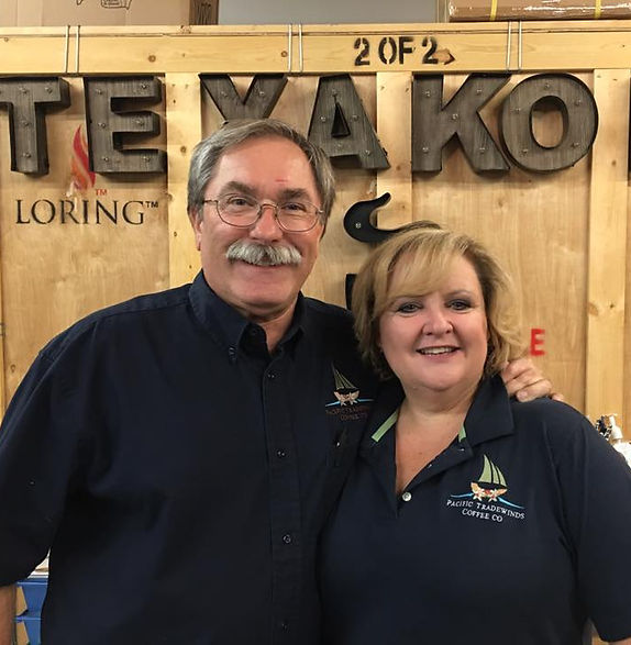 Owners Roaster Dave and Elaine Krazer