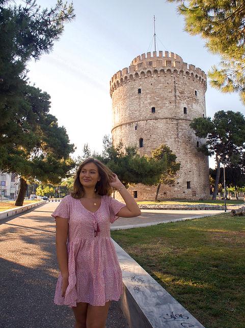 THESSALONIKI SHE TRAVELLED THE WORLD