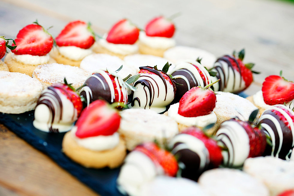 Canapes for Sweet canape ideas