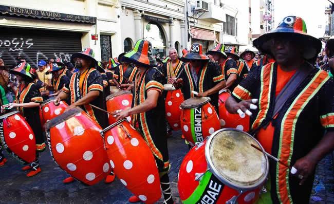 recording studio candombe