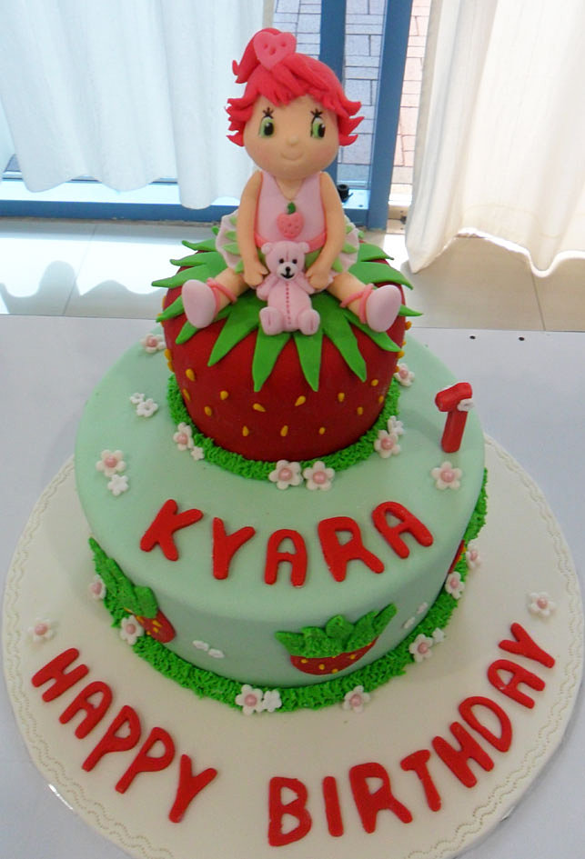 Strawberry Shortcake Cake Delivery