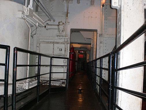 QUEEN MARY: Engine Room Door 13