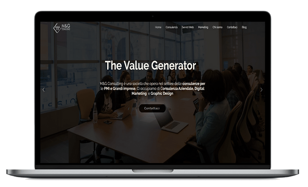 Web Agency Sviluppo sito web Studio M&G Consulting meg consulenze