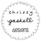 Chrissy Gaskell Designs logo Leicester wedding stationery and surface pattern