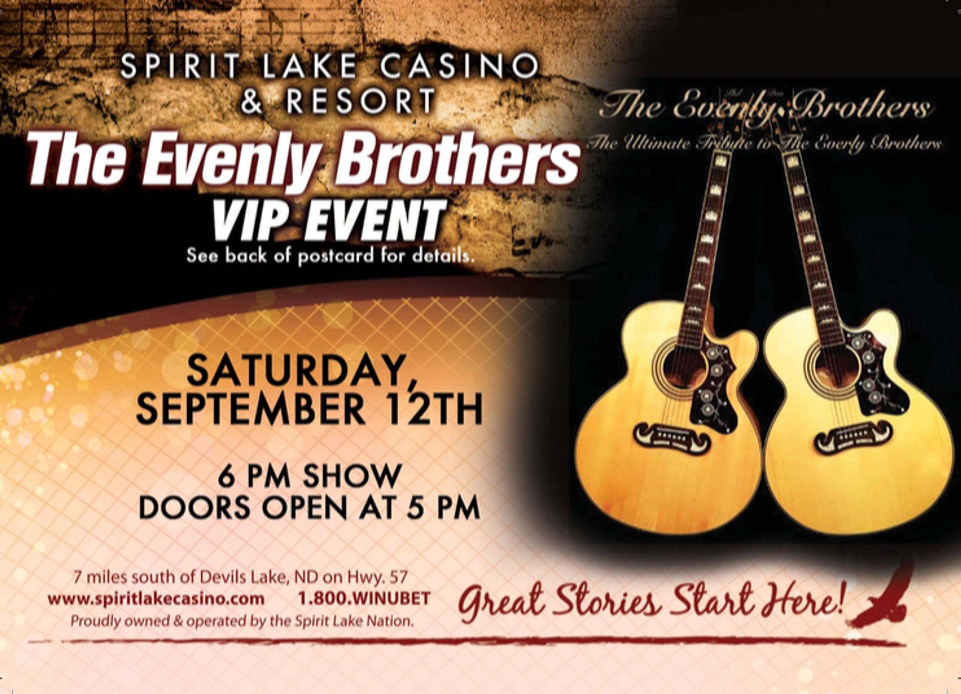 Spirit lake casino concerts