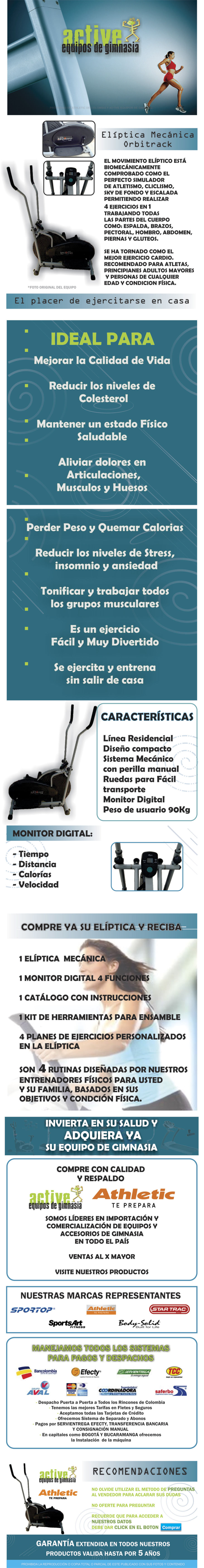 ELÍPTICA ORBITRACK