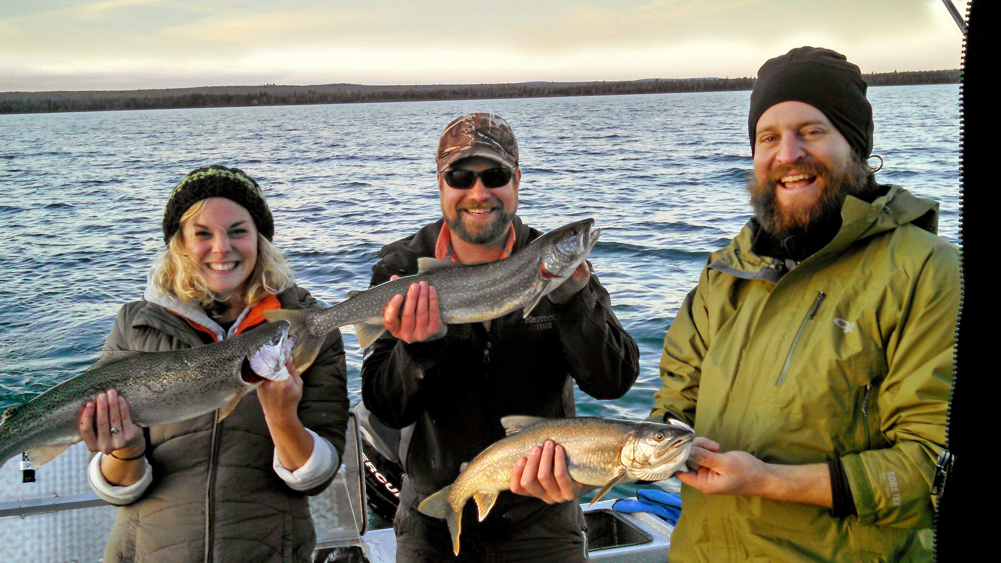 Keweenaw charter fishing co home lake superior for Lake superior fishing charters