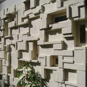 after the 1970s the popularity of decorative cement block waned gradually the number of sizes and patterns available became considerably more limited - Decorative Concrete Block