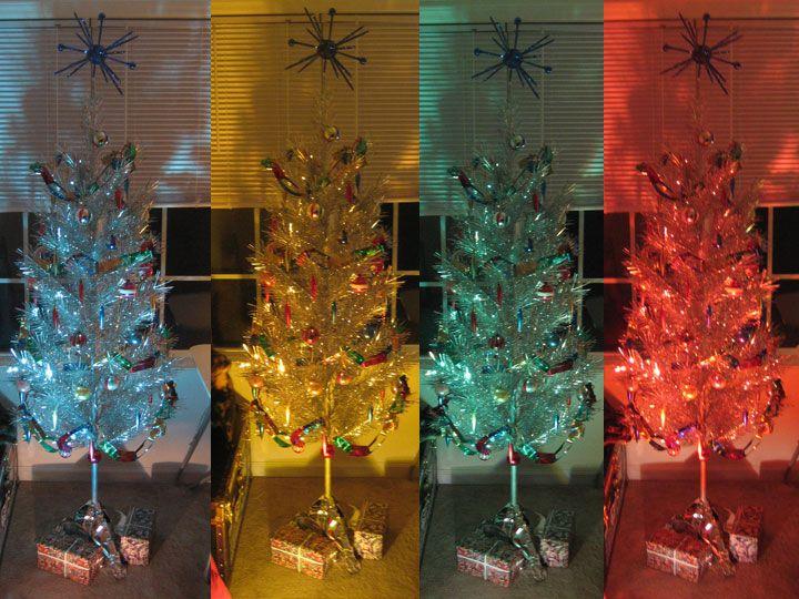 Shimmering Nostalgia: The Aluminum Christmas Tree | daledoesthedesert
