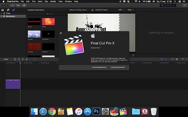 Final Cut Pro X Скачать Бесплатно Для Windows