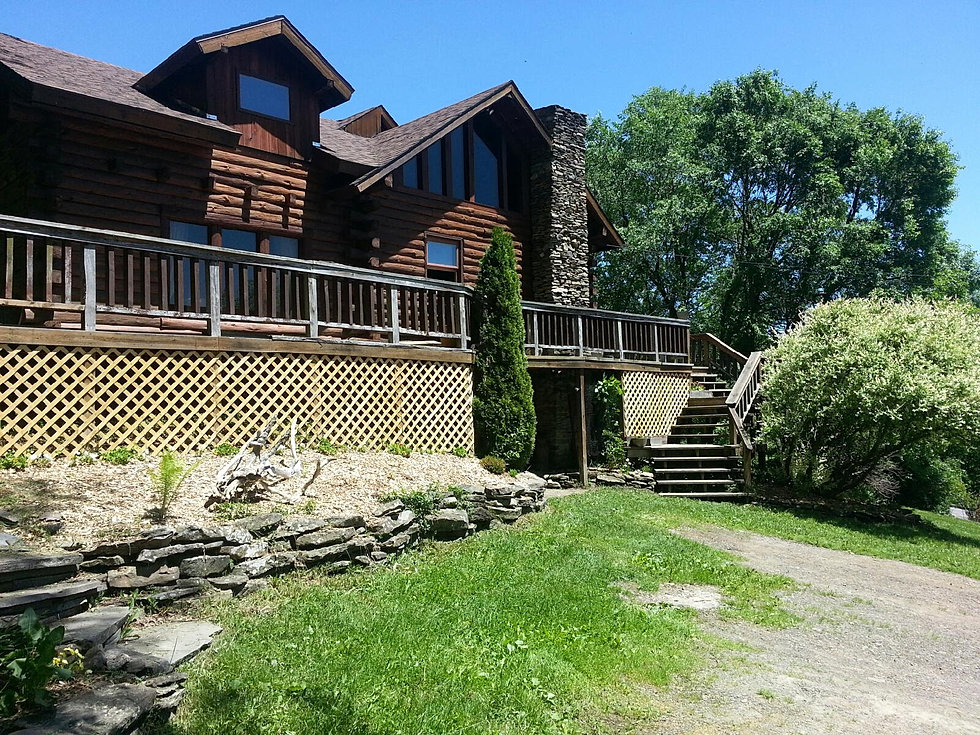 Log cabin home for sale in upstate new york for Home for sale in nyc