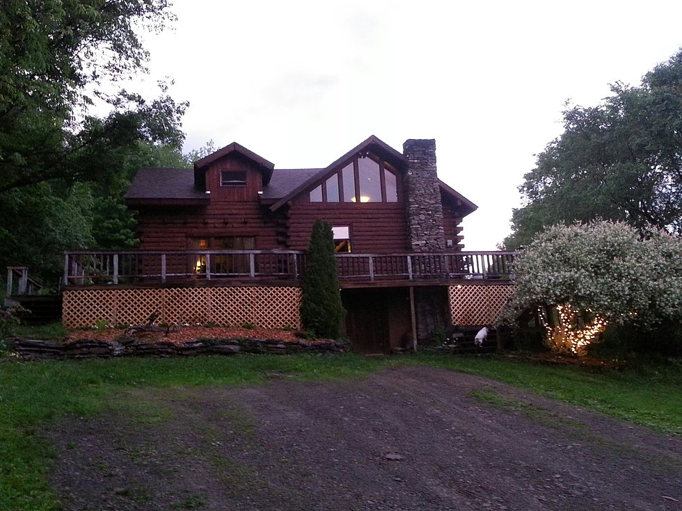 Log cabin home for sale in upstate new york for New york cabin