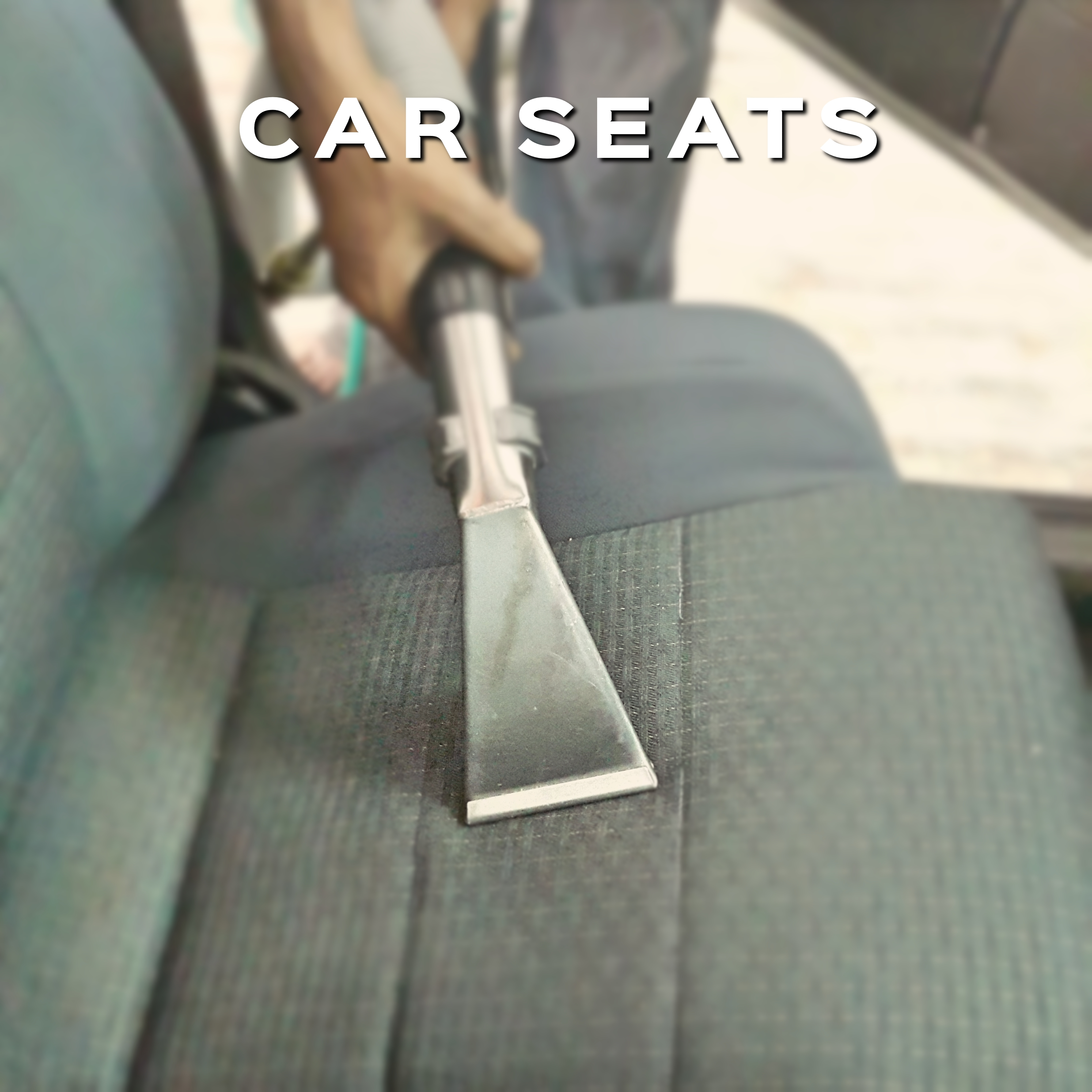 Car Seat Steam Cleaning