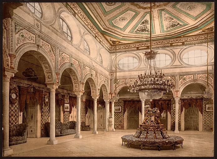 Epoqueottomane palais ksar sa d tunis for Salon d honneur grand palais