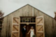 Stylish_Hyde_House_Barn_Wedding_Vintage_Bride_Dress_Tuxedo_Groom