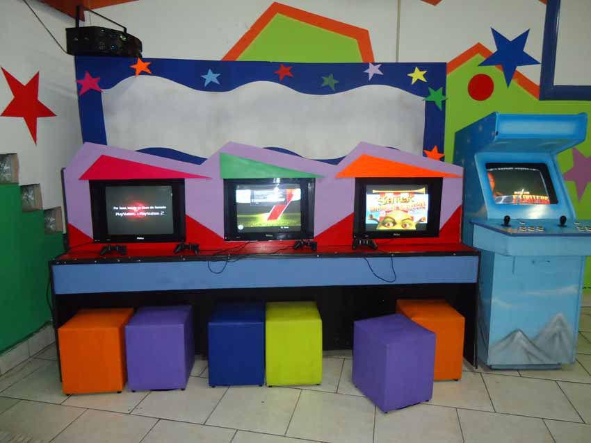 Salão Infantil Games