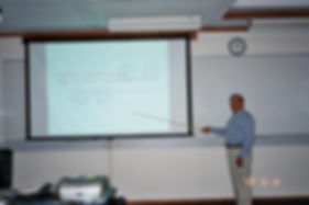 Lecturing at New Zealand Math Conference