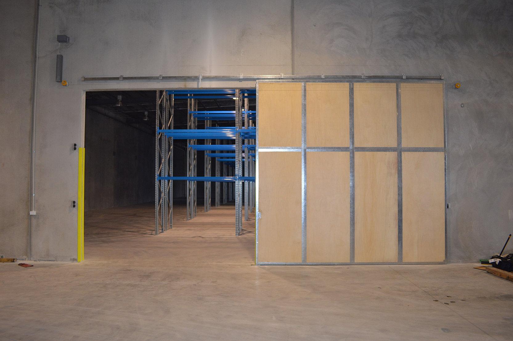 Sliding Fire Doors : Defender sliding door