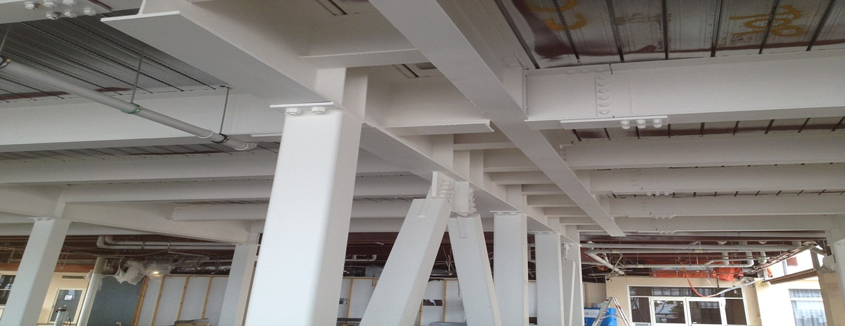 how to specify paint finish for structural steel in australia