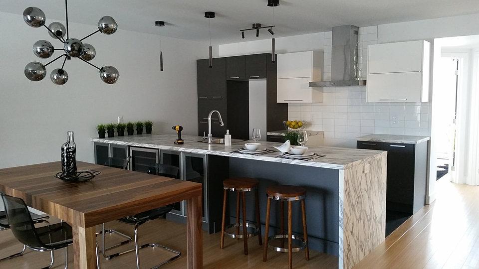 Armoires de cuisine qu bec cuisine d co for Deco cuisine quebec qc