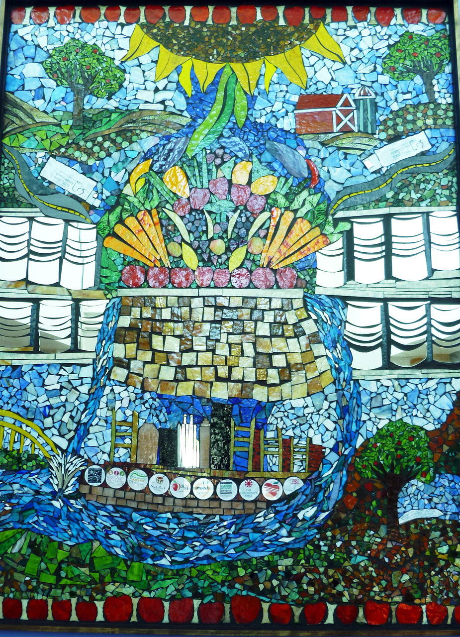 food bank mosaic