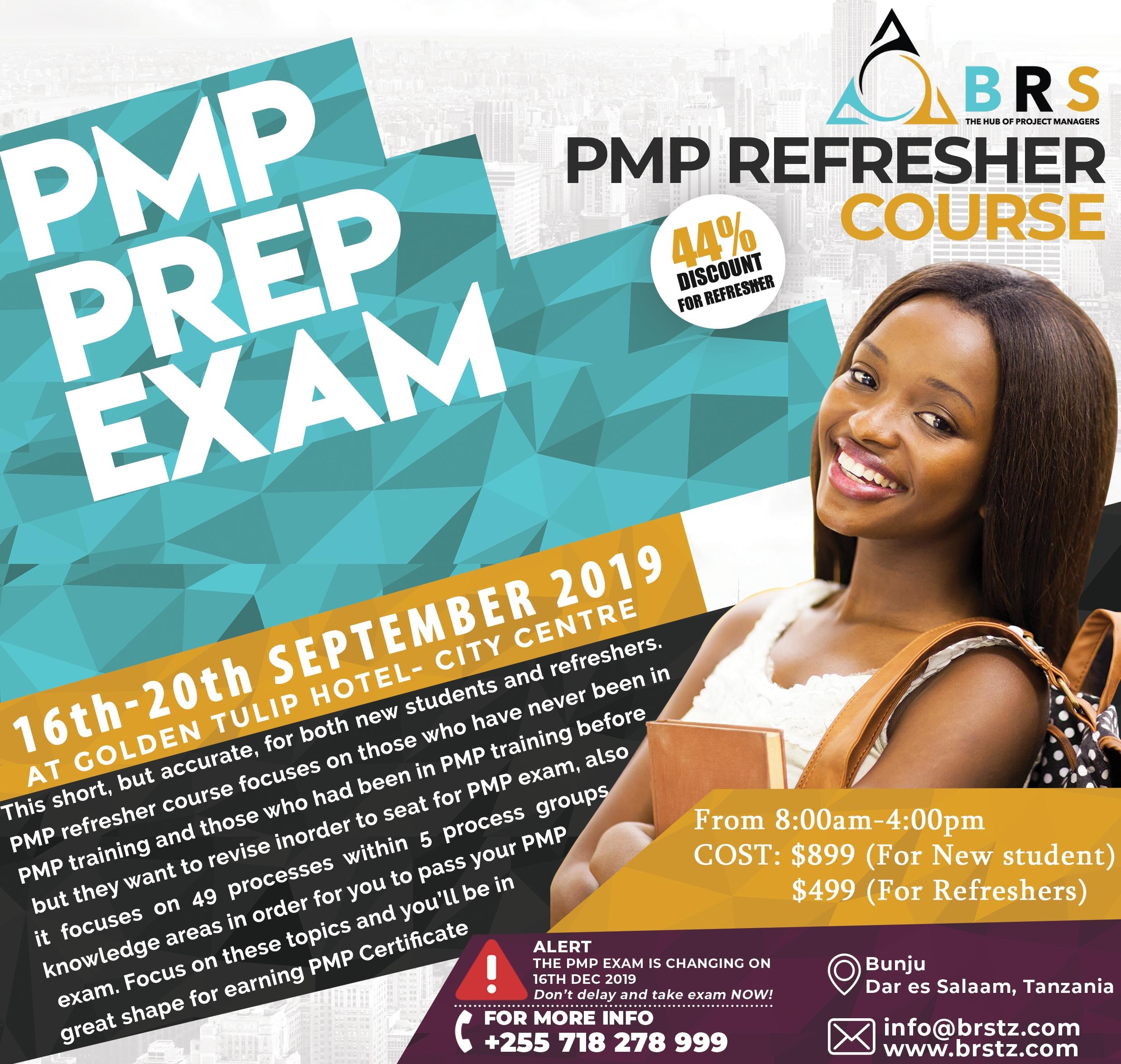 PMP Prep Exam Training