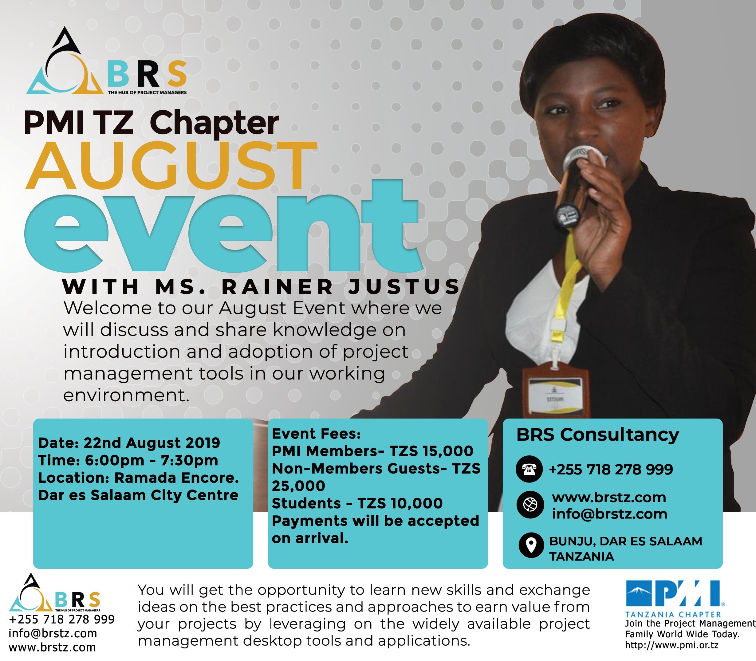 PMI Tanzania Chapter Event