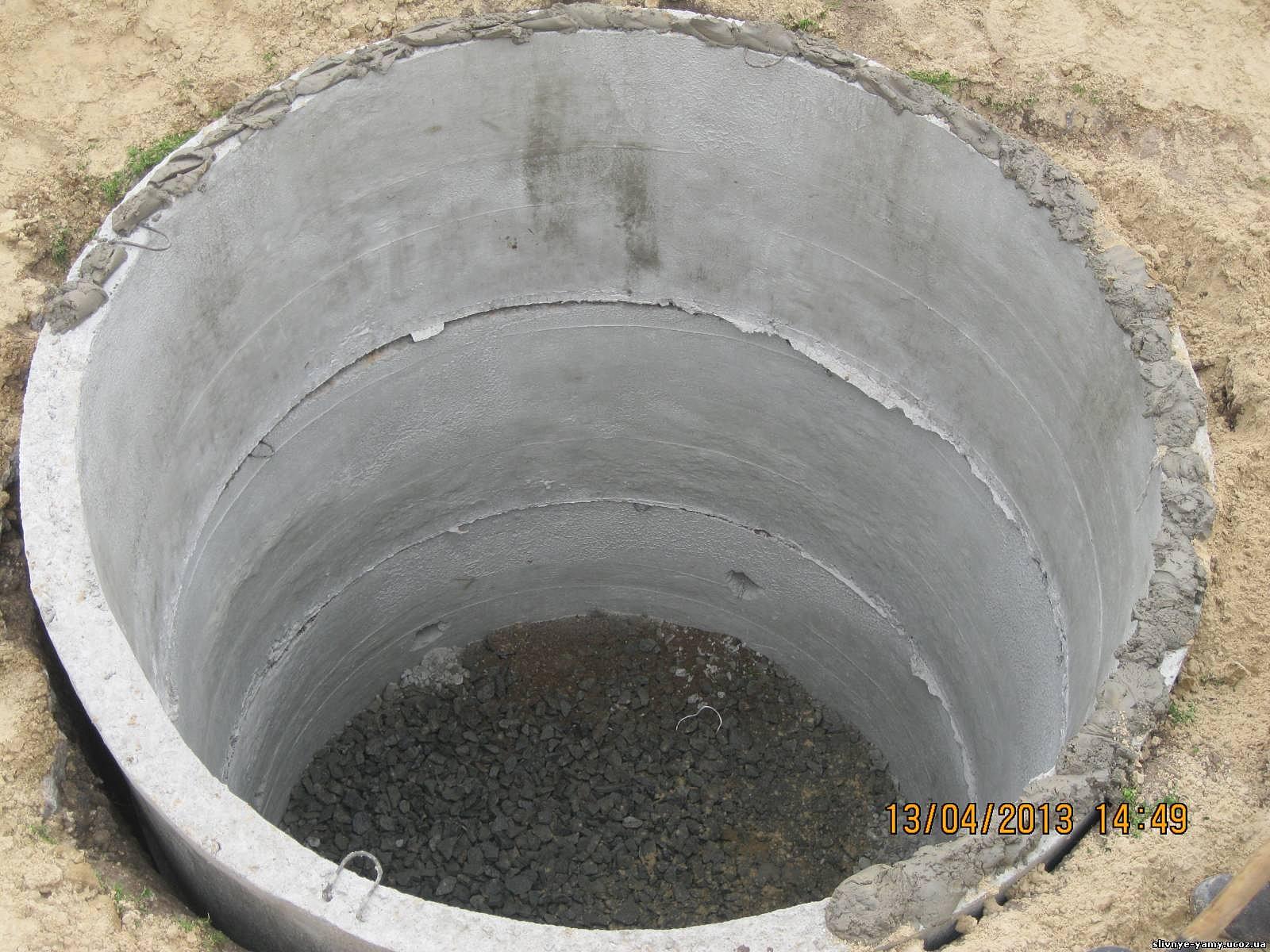 Как сделать сливную яму без дна