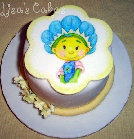 Fifi Flower Tot Painted cake