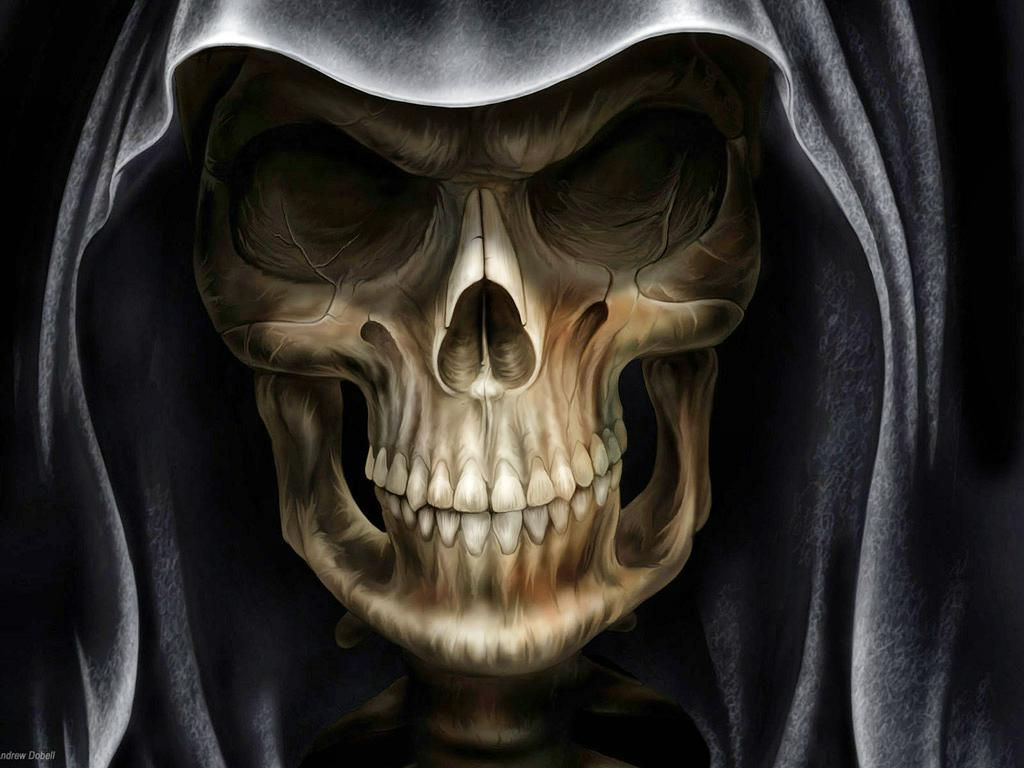 evil skull wallpapers screensaver - photo #23