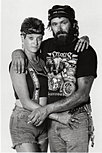 Couple at Sturgis Rally 1989