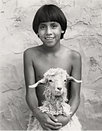 Boy and Pet Goat, 1982