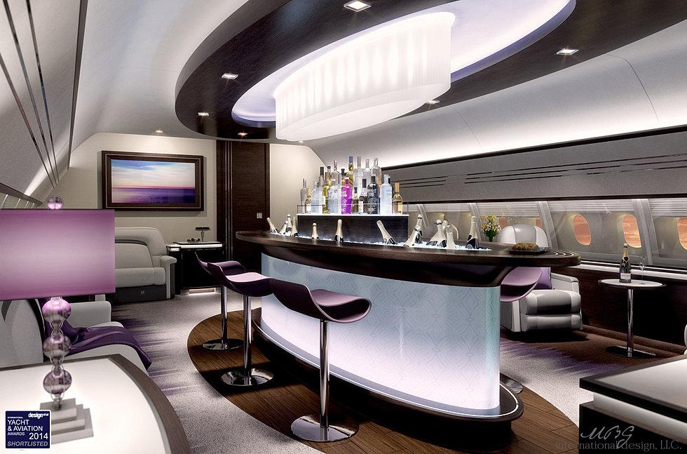Vip Private Business Aircraft Design Aircraft Interior Design Gulfstream Iv Sp