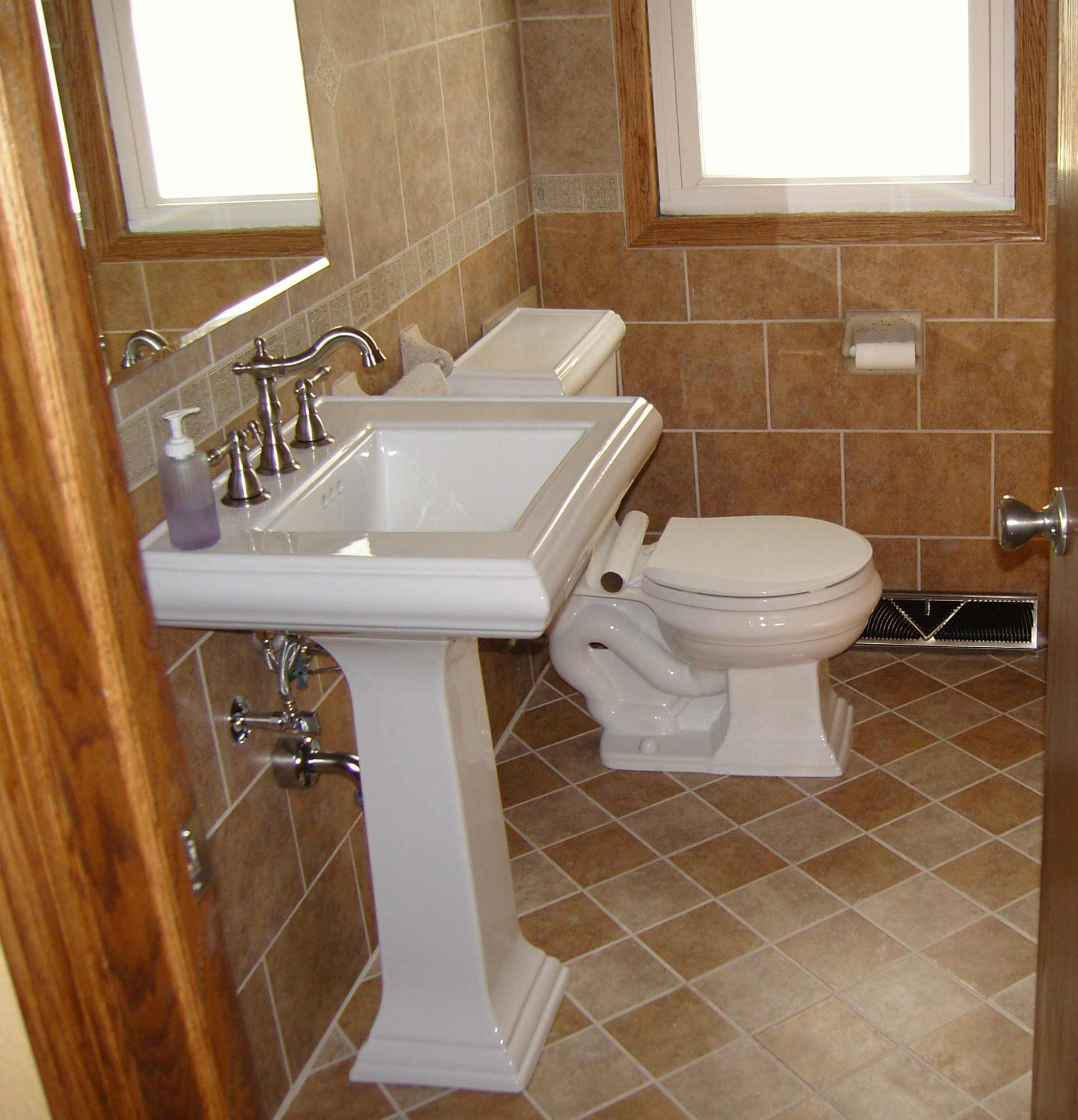Brick floor bathroom - Carpetmartandmore Bathroom Brick Tile For Wall And Floor