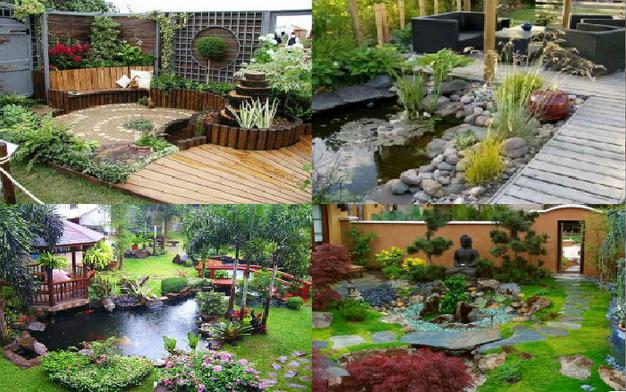 Decoracion de jardin exterior top with decoracion de jardin exterior amazing pedestal - Decoracion jardin exterior ...
