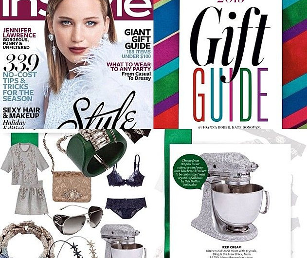 INSTYLE MAGAZINE BLING KITCHENAID MIXER BLING MIXER BLINGISTHENEWBLACK