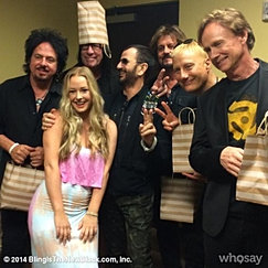 Caitlin & Ringo Starr, Todd Rundgren