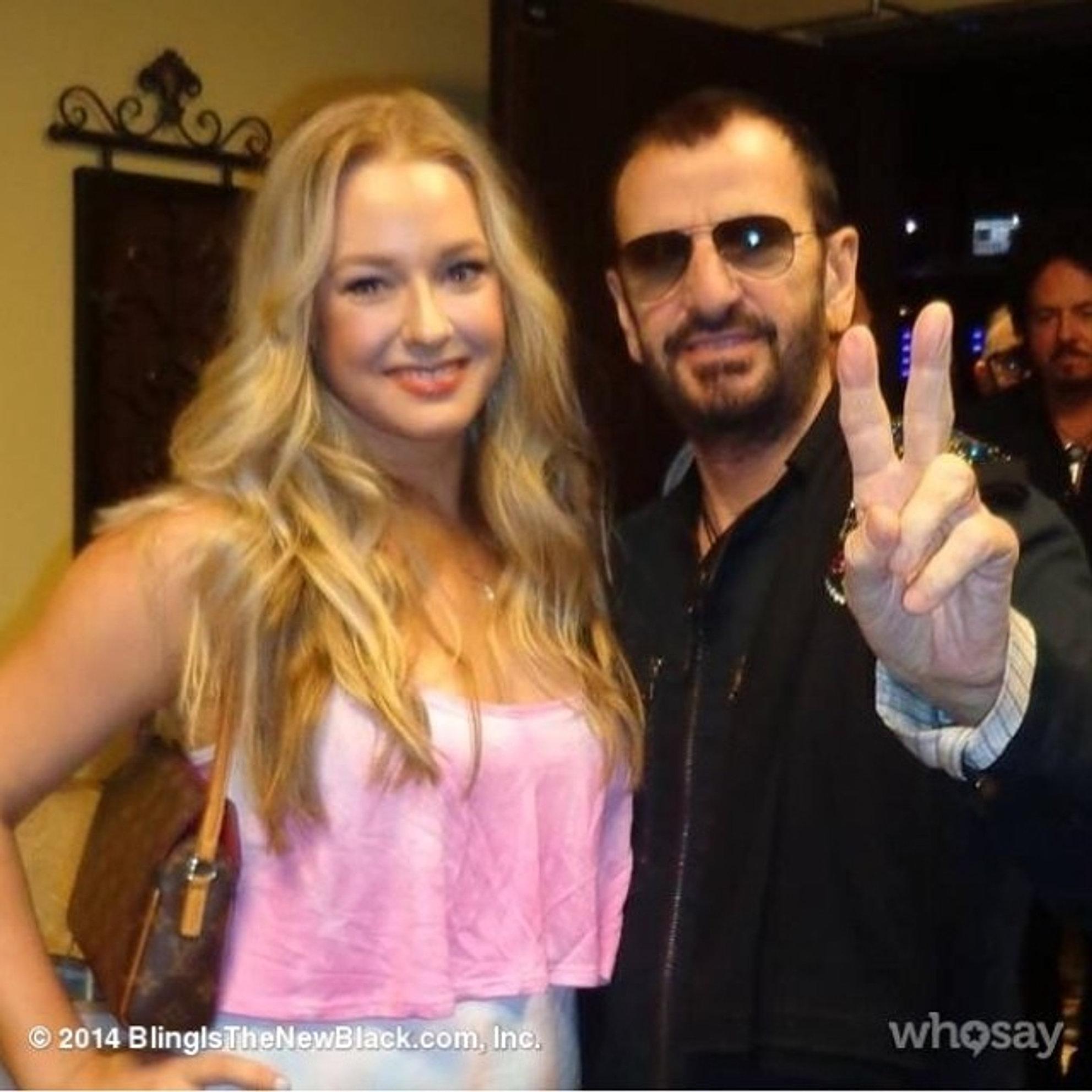 Caitlin & Ringo Starr
